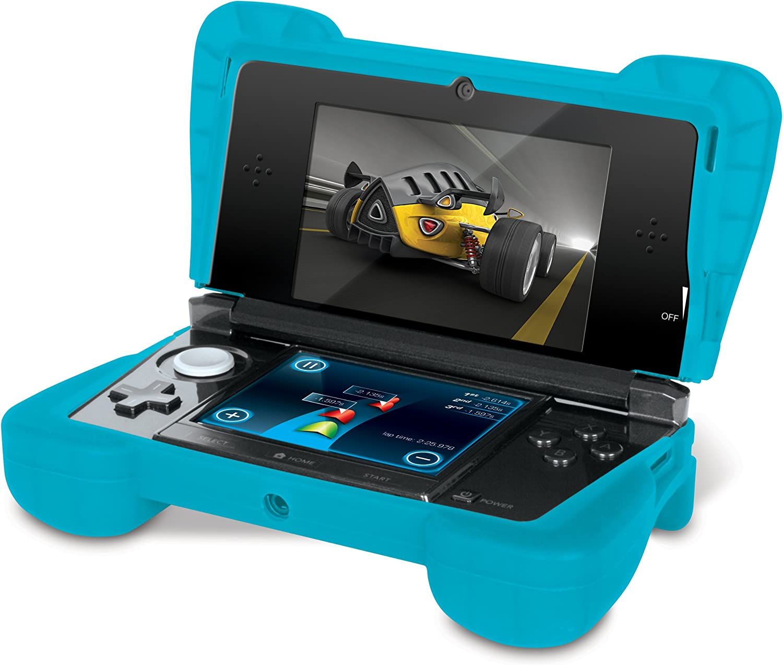 Amazon.com: dreamGEAR dg-dg3ds-4218 3DS Comfort grip-clear ...