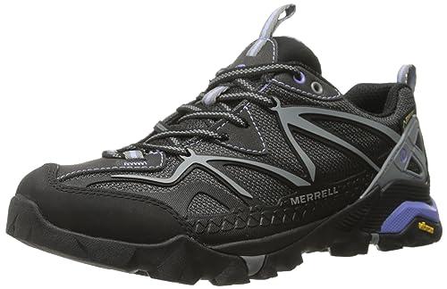 Merrell Capra Sport Gtx, Scarpe Da Trekking da donna, nero (black/grey