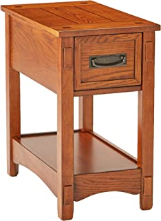 Ashley Furniture Signature Design   Breegin Chairside End Table   1 Drawer    Contemporary   Brown