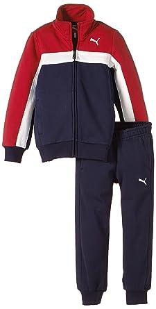 PUMA Trainingsanzug Sweat Suit - Chándal para niño: Amazon.es ...