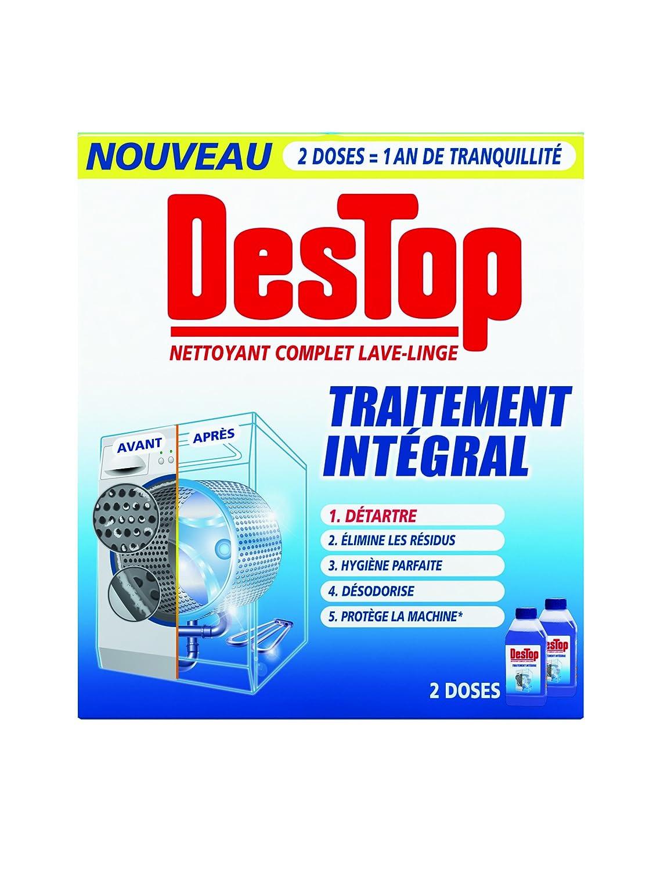 Destop Nettoyant Complet Lave-Linge 36 ml - Lot de 36: Amazon.fr ... - Produit Pour Nettoyer Lave Linge