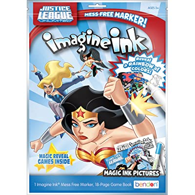 Bendon DC Comics' Justice League Unlimited Imagine Ink Play Pack Activity Set (41701): Toys & Games