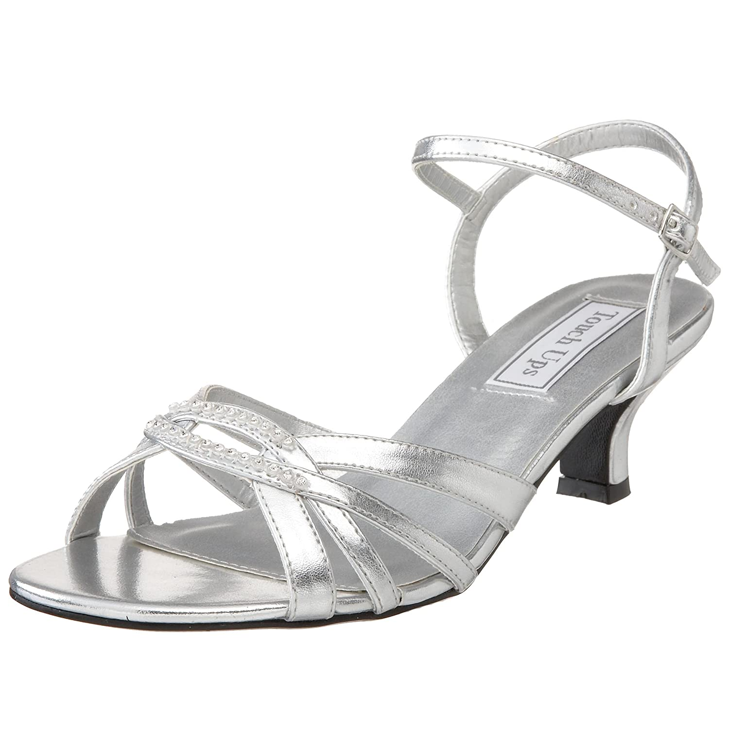 Amazon.com | Touch Ups Women's Dakota Sandal | Heeled Sandals