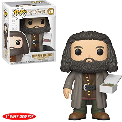 Funko 35508 Pop Harry Potter Hagrid With Cake 6 Standard Multicolor