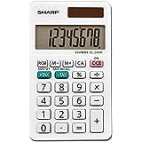 Sharp EL-244WB Business Calculator, White 2.125, 2.38 x 4.06 x 0.31 inches