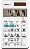 Sharp EL-244WB Business Calculator, White 2.125