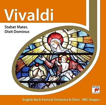 Vivaldi-Stabat Mater Dixit Dom: English Bach Festival Orchestr: Amazon.es: Música