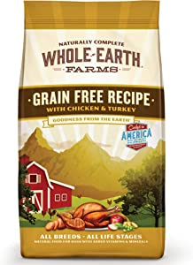 Whole Earth Farms Grain Free Chicken and Turkey