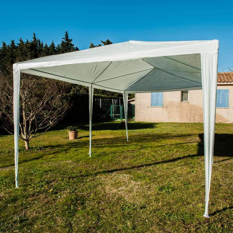 Provence Outillage Carpa de jardín 3 x 6 m, Color Blanco: Amazon.es: Jardín