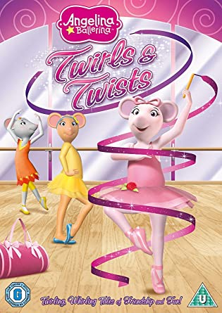 Angelina Ballerina: Twirls And Twists [DVD]: Amazon.co.uk