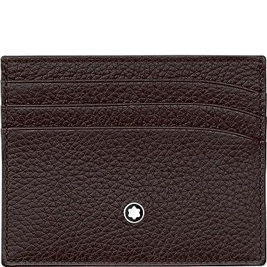 d66d7f3d87 Amazon.com: Montblanc Credit Card Case, brown (brown) - 114473: Mont ...
