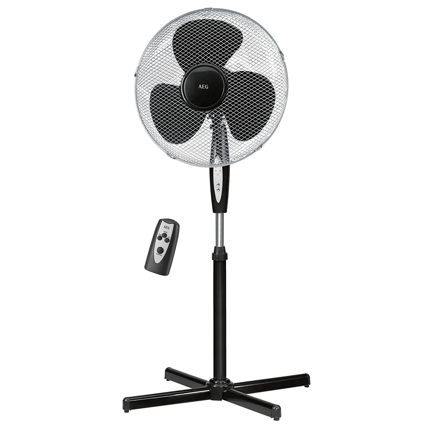 Aeg VL 5668 stand fan with remote control and timer VL 5668 S
