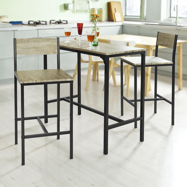 Amazon.com: Haotian Sling High Bistro Set ,Home Kitchen Outdoor ...