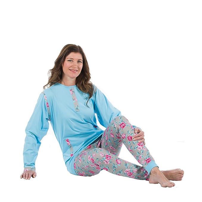 9e6b938959da Womens Special Needs Anti-Strip Jumpsuit w Zippered Back at Amazon ...