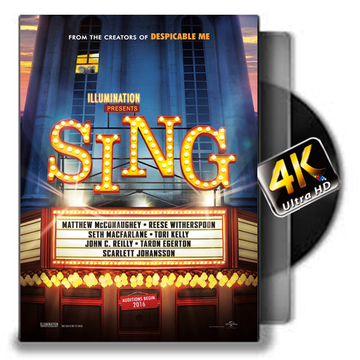 4K- Sing 1080p (2016) (Free Full Movie compare prices)