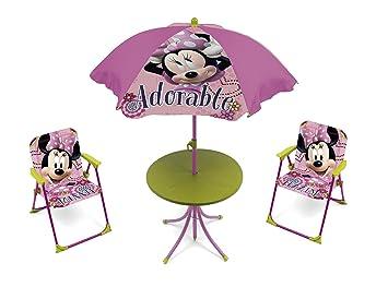 Arditex - 009451 - Set De Jardin - Minnie Mouse avec Table Ronde ...