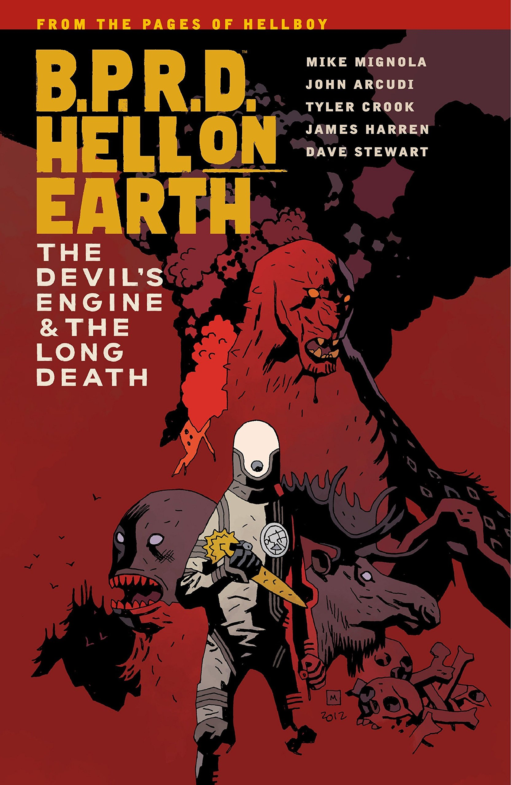 Read Online B.P.R.D. Hell on Earth Volume 4: The Devil's Engine & The Long Death pdf