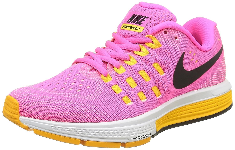 NIKE Women's Air Zoom Vomero 11 Running Shoe B015GIL4V4 7 B(M) US|Pink Blast/Black-laser Orange-atomic Pink