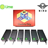 Amazon.com: Lime Scooter Charger 2-Pack | Bird, Lime-S, Skip ...