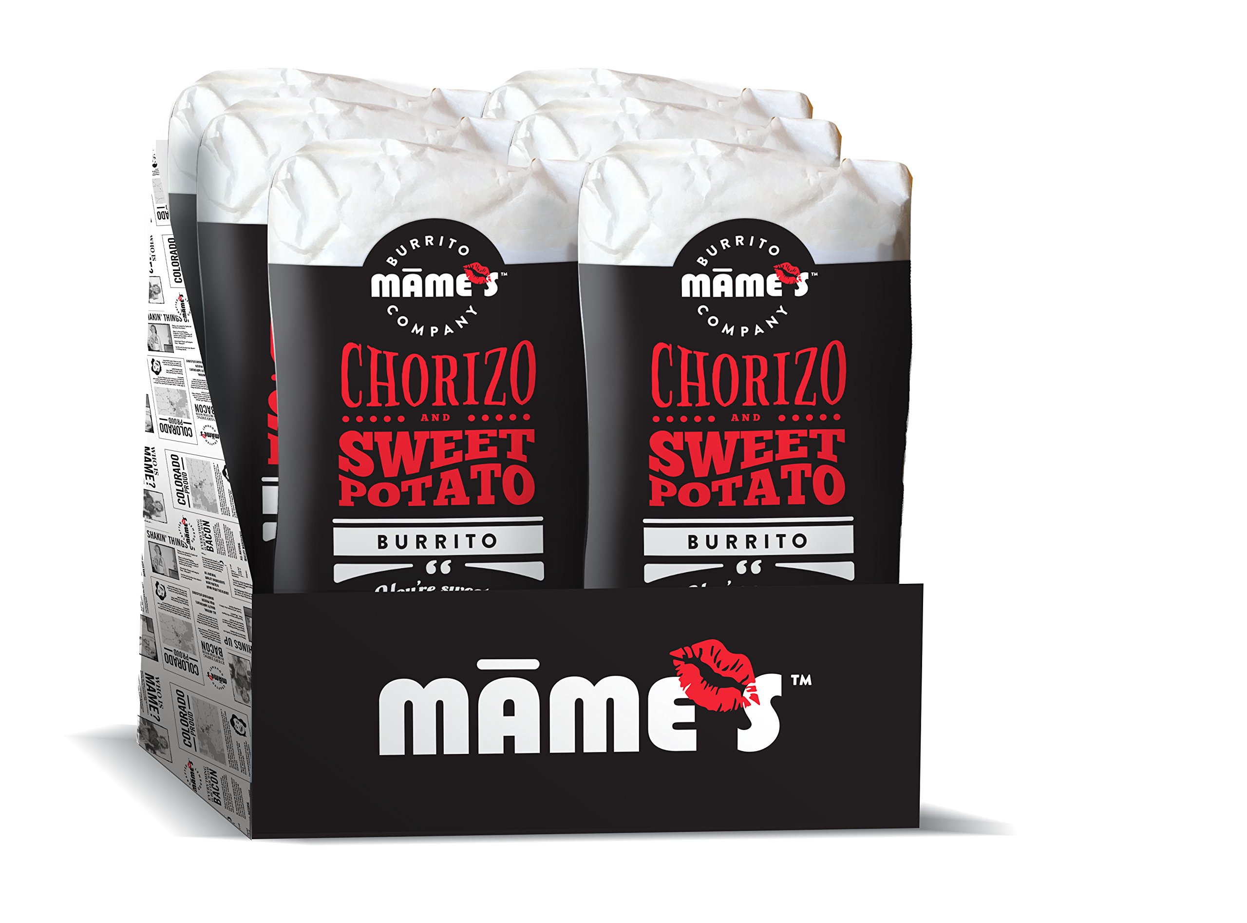 Mame's Burrito Company Sweet Potato Chorizo, 7 Ounce (Pack of 12) by Mame's Burrito Company