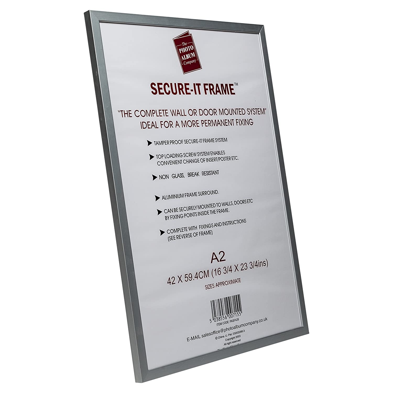 The Photo Album Company PASFA2B A2 42 x 59 Cm Secure-It Aluminum ...
