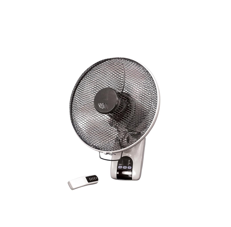 grigio//nero Ventilatore da parete Vent Axia 427583