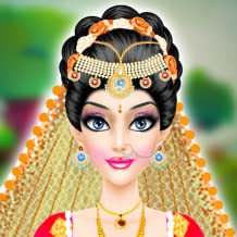 Indian Wedding Salon : wedding salon 2  free game for girls (Kindle Tablet Edition) - Sofia Bride Spa Makeover, Dress Up, Makeup & Photo Fun Perfect Wedding Day : Celebrity Wedding Salon : Wedding Makeup Salon Bridal : Hollywood Star Girls Game