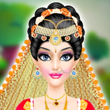 Indian Wedding Salon : wedding salon 2 free game for girls (Kindle Tablet Edition)