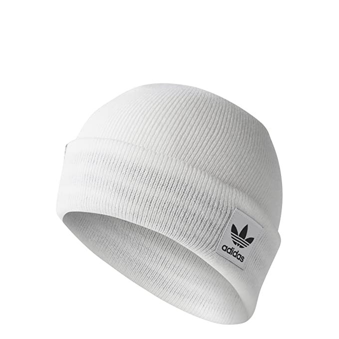 f7168f65 adidas Originals Unisex Logo Beanie, White/ Black, OSFM: Amazon.ca:  Clothing & Accessories
