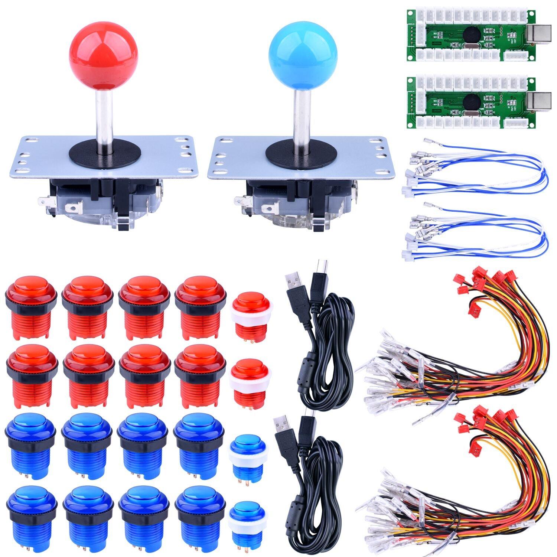 sanwa joystick wiring diagram wiring libraryamazon com for raspberry pi 3 2 model b retropie, longruner led arcade