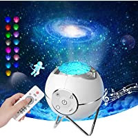 Hunrim Galaxy Projector Ocean Wave Star Projector Night Light Laser Rotating Sleep Soothing Star Light Projector with…