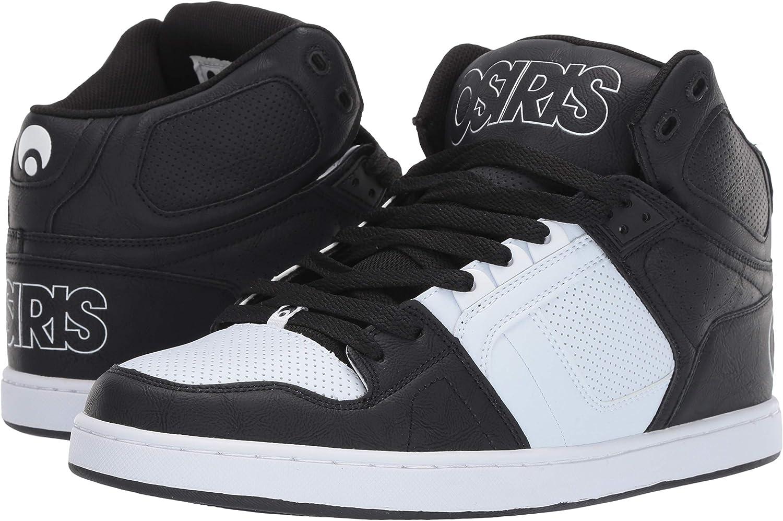 Osiris NYC83 CLK' Grey/Black/Opal. Noir Blanc