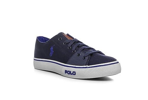 Sneaker B9216 Low Ne Polo Blu Shoe Ralph Lauren Cantor Scarpa Uomo K1c35lFuJT
