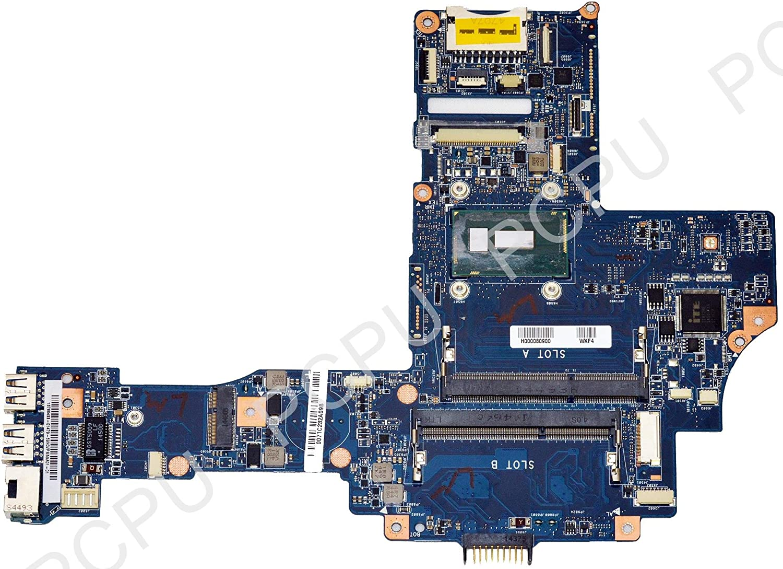 H000080900 Toshiba Satellite E45T-B4106 Laptop Motherboard w/ Intel i5-5200U 2.2GHz CPU