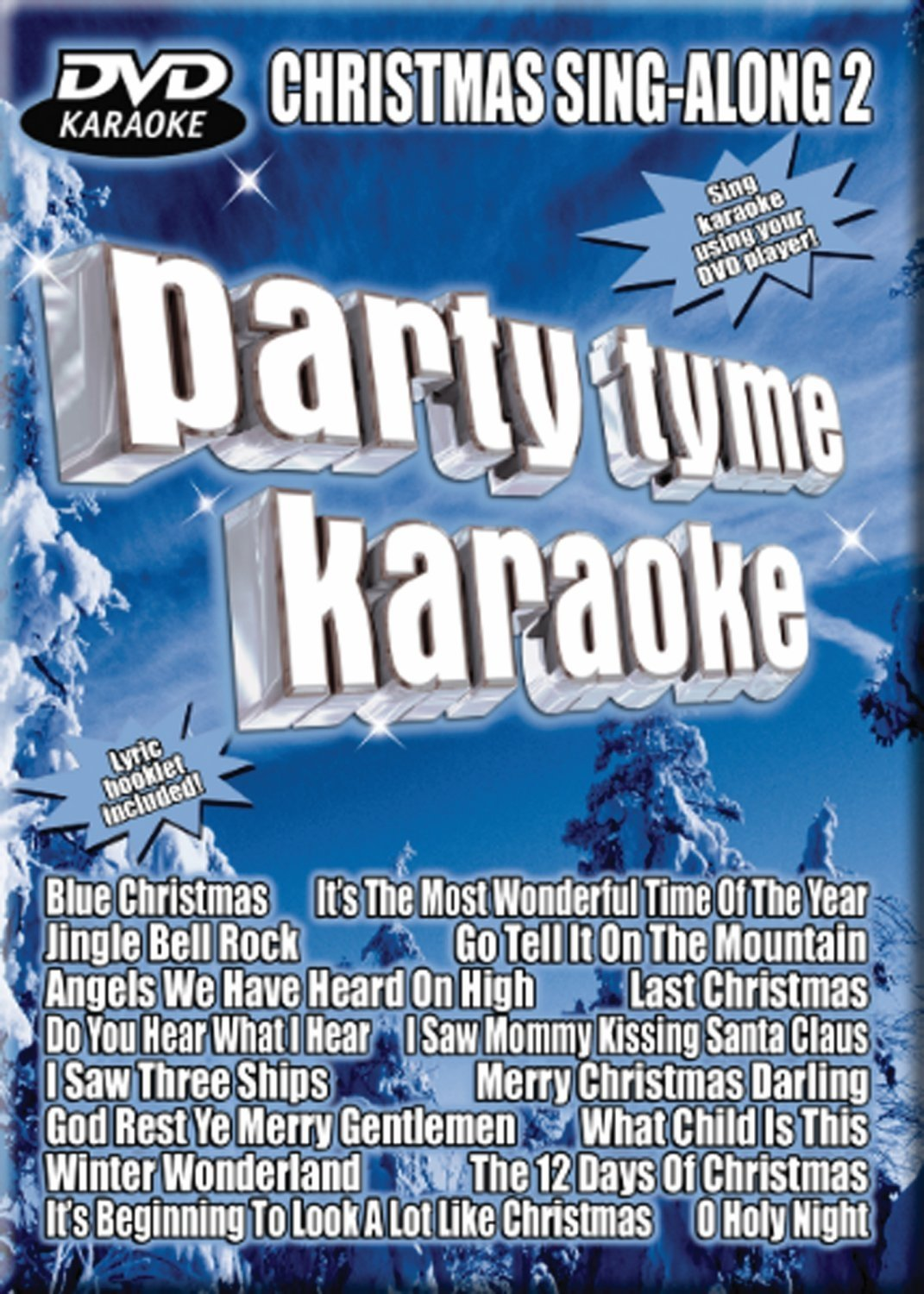 Party Tyme Karaoke DVD Christmas Sing-Along, Vol. 2