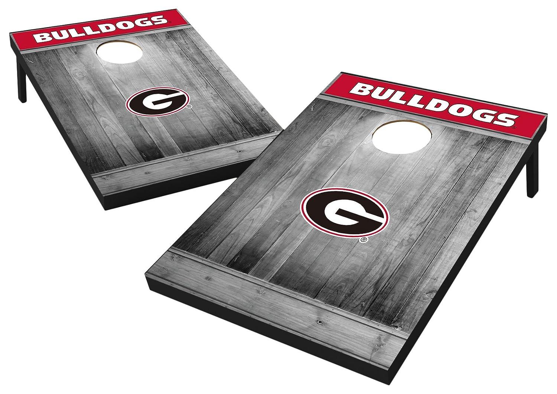 Grey Wood Wild Sports 2x3 MDF Wood NCAA College Cornhole Set