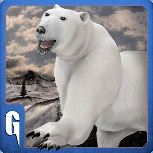 Wild Polar Bear Revenge 3D Sim