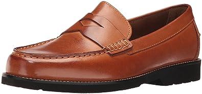27b02d768da Rockport Men s Style Seeker Penny Loafer Cognac