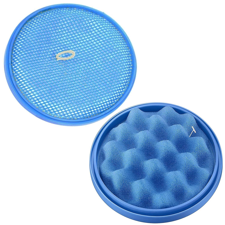 Blue Sponge Pre Motor Filter for SAMSUNG CycloneForce Pet Motion Sync Vacuum x 2
