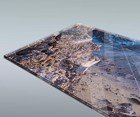 Atacama, Chile Design M0918 180 x 60 cm (Ancho x Alto) - Vidrio acrílico 4mm Pared Trasera Cocina Foto Foto Cocina Foto Foto Motivo Estufa ...