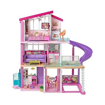 Amazon Es Barbie La Casa De Tus Suenos Casa De Munecas Mattel