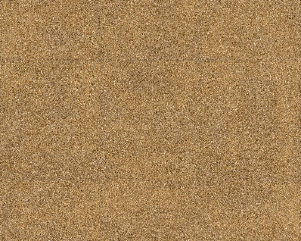 Livingwalls papel pintado Titanium marró n metá lico 10, 05 m x 0, 53 m 306533 30653-3