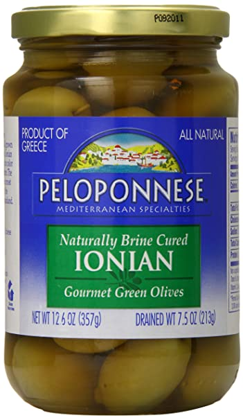 Amazon.com : Peloponnese Ionian Olives, 7.5 Ounce : Grocery ...
