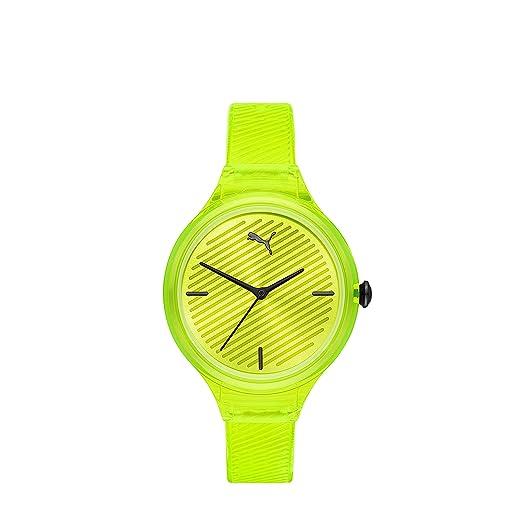 reloj puma hombre amarillo