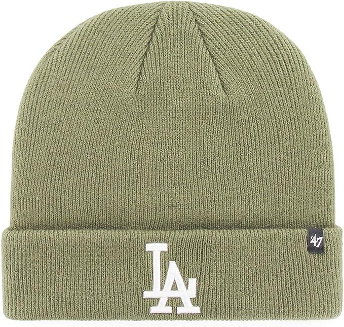 Light green LA Dodgers beanie