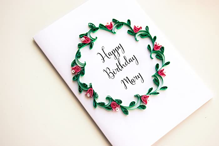 Amazon Personalized Birthday Greeting Cards For Him Her Mom Dad