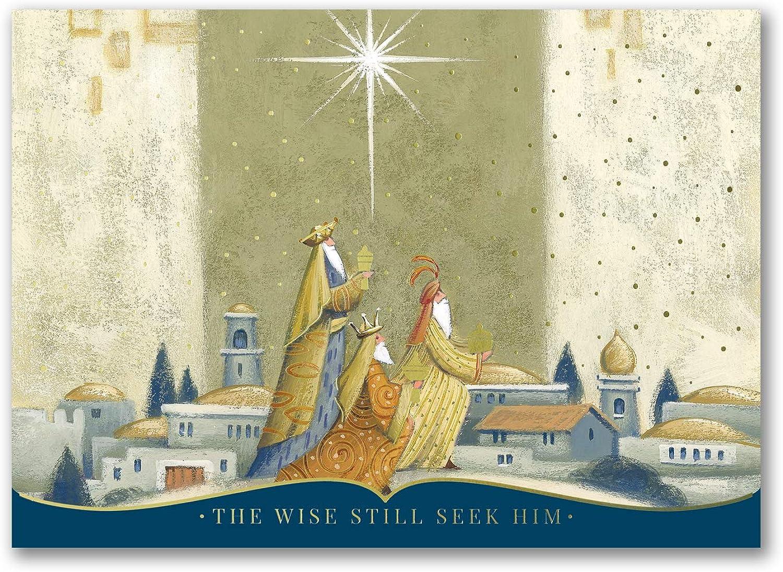 Christmas Card-Christmas Cards 50pk The Offertory