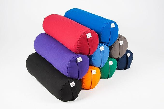 Almohada para yoga EkoTex de algodón orgánico, forma redonda ...