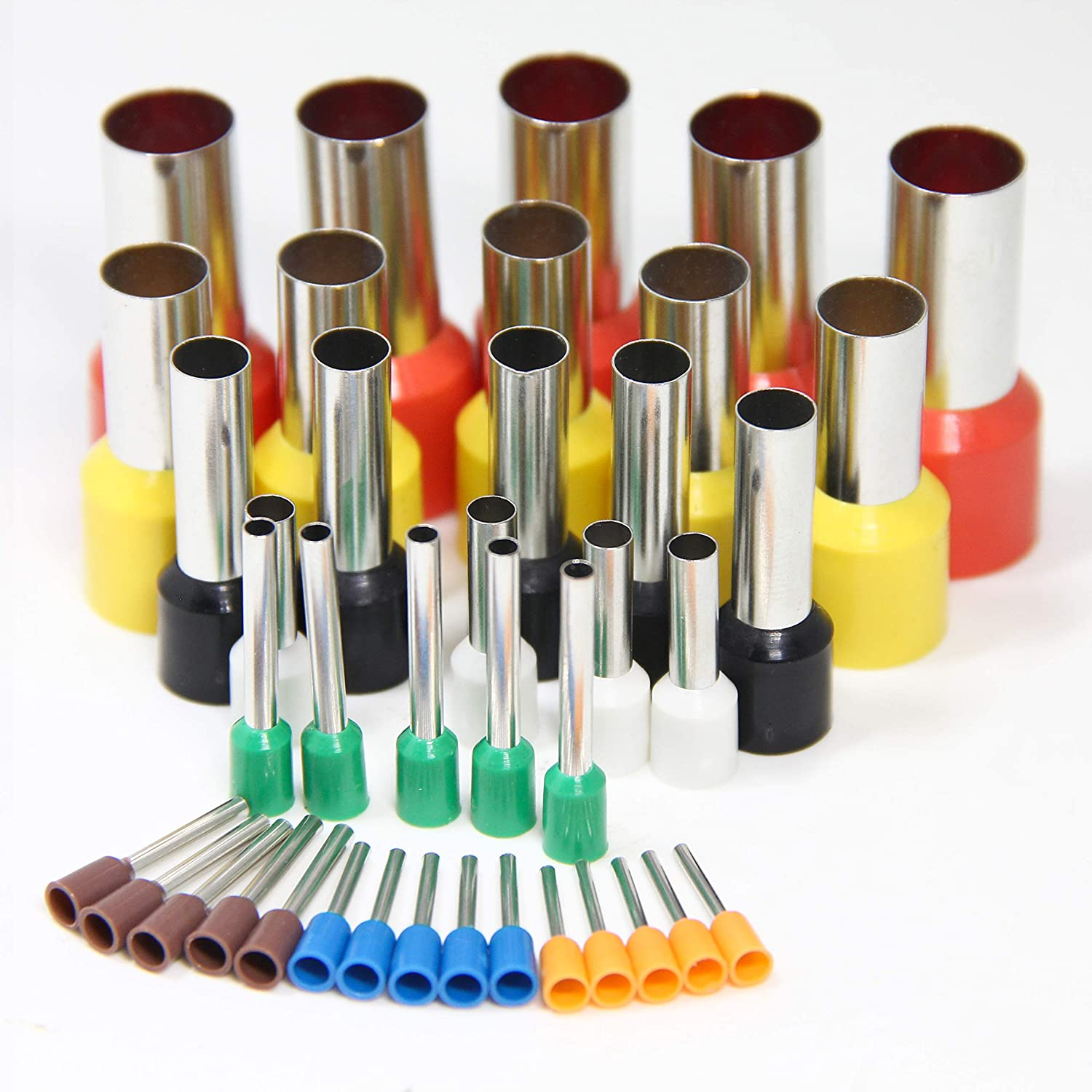 StickyDeal 40PCS Indentation Round Circle Shape Clay Cutters Mold Ceramics Dotting DIY Clay Cutting Tools with Storage Box Polymer Clay Cutters