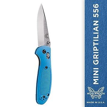 Amazon.com: Benchmade - Mini Griptilian 556 Cuchillo: Home ...